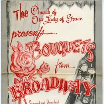 Image of Program: The Church of Our Lady of Grace Presents Bouquets from Broadway. Hoboken High School Theatre. May 18, 19, 20, 21, 1967. - Program