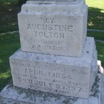 Image of reference photo: Tolton grave from wikipedia 2014