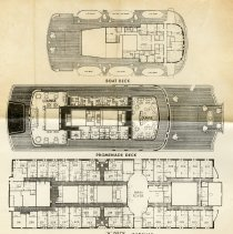 Image of detail of deck plans