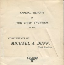 Image of Fire_dept_annual_report_1918 Pg [1] With Label