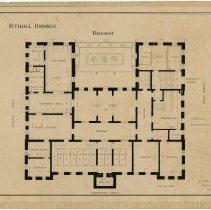 Image of plan as mounted