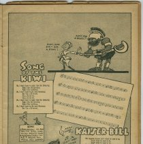 Image of pg [11] 10. Song of the Kiwi; 11. Kaiser Bill Aint Wot He Uster Be