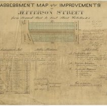 Image of Assessment map Jefferson St - Newark to First