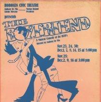 Image of Hoboken Civic Theatre: The Boyfriend.