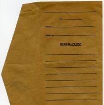 Image of bank envelope