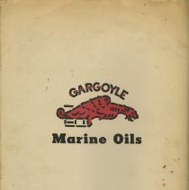 Image of 10 back cover, logo: Gargoyle Marine Oils