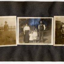 Image of 062 Leaf 34 - 3 Photos - Hoboken 1911 + Italy