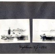 Image of 071 Leaf 38 - 2 Photos - Atlantic Highlands 1912