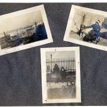 Image of 075 Leaf 40 - 3 Photos - Hoboken Elysian Park 1913