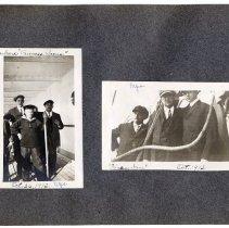 Image of 077 Leaf 41 - 2 Photos - On Board Princess Irene 1912