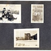 Image of 083 Leaf 44 - 3 Photos - Hoboken - Elysian Park - Snow