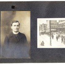 Image of 095 Leaf 50 - 2 Photos - Hoboken - Father Julius + Funeral 1914