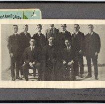 Image of 098 Inside Back Cover -  Photo Priest + Men