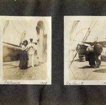 Image of 003 Leaf 1 - 2 Photos - Onboard P. Di Piemonte 1908