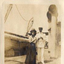 Image of 003 Leaf 1 Left Photo- Onboard P. Di Piemonte 1908