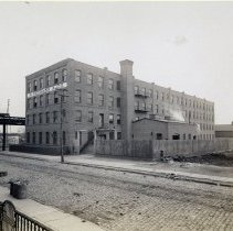 Image of 06 Hoboken exterior, Clinton St. looking southwest to Ferry Street.