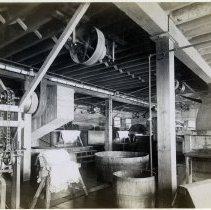 Image of 08 Hoboken interior, leather processing room