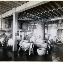 Image of 09 Hoboken interior, leather processing room
