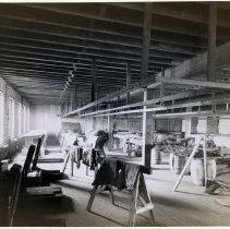 Image of 11 Hoboken interior, leather processing room