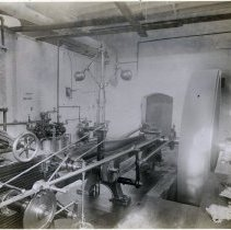 Image of 17 Newark (or Hoboken?) interior, power room