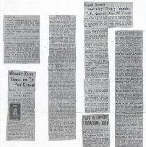 Image of 02 obituaries (photocopies)
