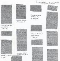 Image of 03 obituaries (photocopies)
