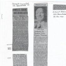 Image of 04 obituaries (photocopies)