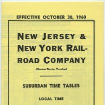 Image of Typical cover : 1:  Effective October 30, 1960.