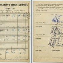 Image of 3: Naomi Schubin; Class 10A Academic; tenth grade, 1952-1953