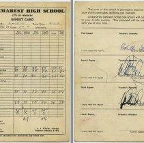 Image of 5: Naomi Schubin; Class 11B Academic; Eleventh grade, Feb.-June 1954