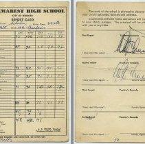 Image of 6:Naomi Schubin; Class 12A Academic; Twelfth grade, 1954-1955