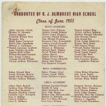 Image of pg [4] Graduates, Class of June 1955
