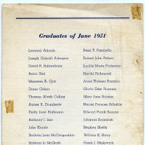Image of pg [4] Graduates of June 1951