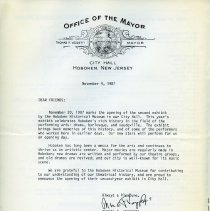 Image of pg [4] letter, Mayor Thomas F. Vezzetti