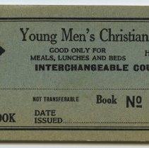 Image of Erie-Lackawanna R.R. Dept., Young Men's Christian Association, Hoboken, N.J., $5 Interchangeable Coupon Book. N.d., ca. 1960-1965. - Book, Coupon