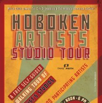 Image of Hoboken Artists Studio Tour 2012 poster design