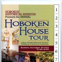 Image of Program: Hoboken Historical Museum Presents the Annual Hoboken House Tour. Sunday, Oct. 27, 2013. - Program