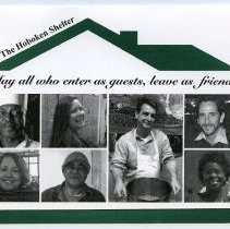 Image of Invitation to Hoboken Homeless Shelter 30th Anniversary Celebration, May 3, 2012. - Announcement