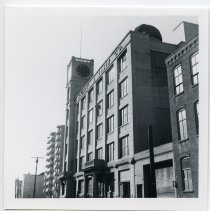 Image of 2: K&E, view SW on Adams to Third St.