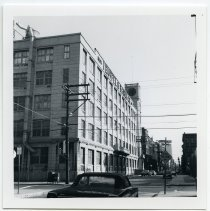 Image of 3: view east on Third Street from west of Jefferson St.