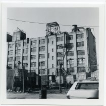 Image of 4: back of plant building along Jefferson St.
