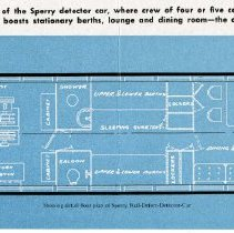 Image of detail pg [3]: floor paln of the Sperry detector car