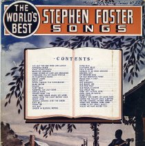 Image of Songbook: The World's Best Stephen Foster Songs. Arranged by Milton James. Amsco Music Publishing Co., N.Y., 1942. - Songbook