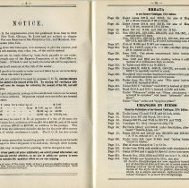 Image of 03 Pp 3-3a Notice; Errata; Changes in Items in General Catalogue, 37th ed.