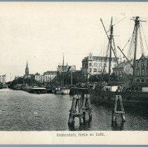 Image of [12] Geestemunde, Partie am Kanal.