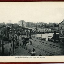 Image of [5] Bremerhaven - Geestemunde. Neue Geesebrucke.