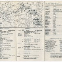 Image of outside, fare, route map, equipment