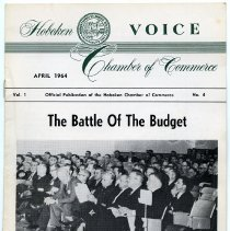 Image of Newsletter: Voice. Vol. 1, No. 4. April 1964. Hoboken Chamber of Commerce. - Newsletter