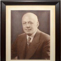 Image of Photo portrait of George B. Bernheim, an owner & president of R. Neumann & Co., Hoboken. - Print, Photographic
