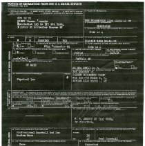 Image of Notice of Separation